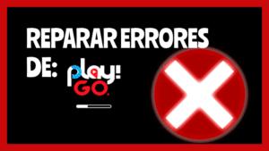 reparar errores play go problema