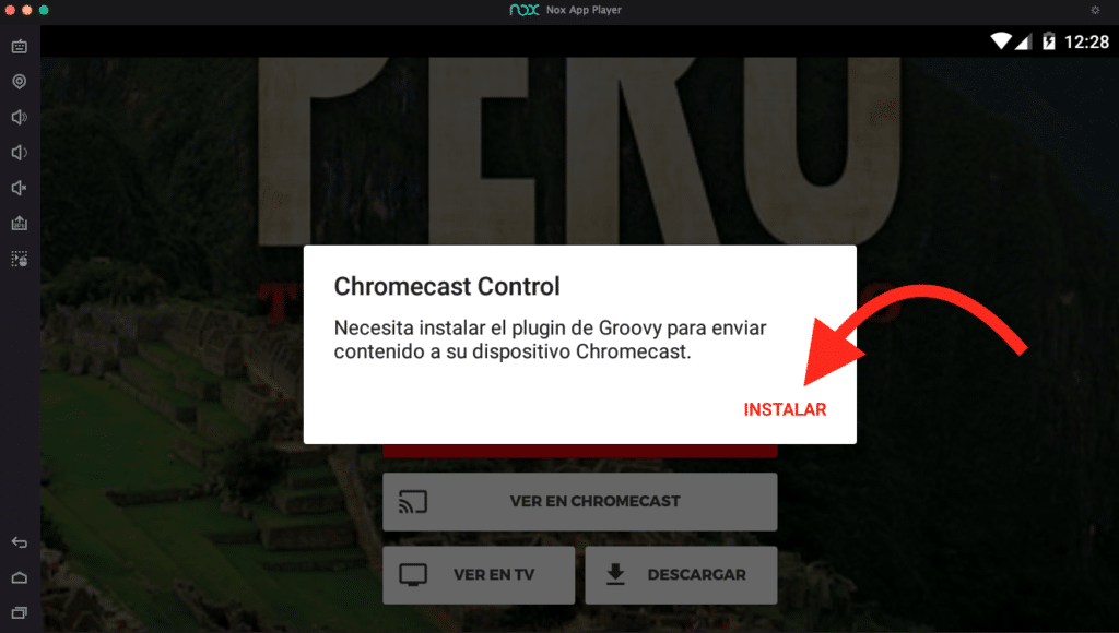 play go chromecast tv samsung
