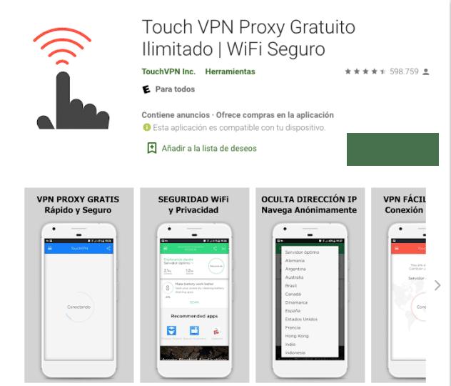 touch vpn pro apk