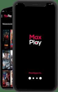 descargar max play apk smart tv