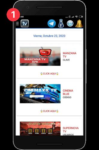 code tv plus contraseña manzana tv