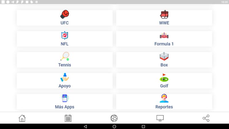 iRaffle TV Sports Events app