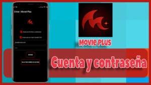 usuario y contraseña de movie app