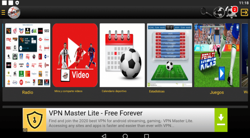 descargar Futbolero TV Plus para pc