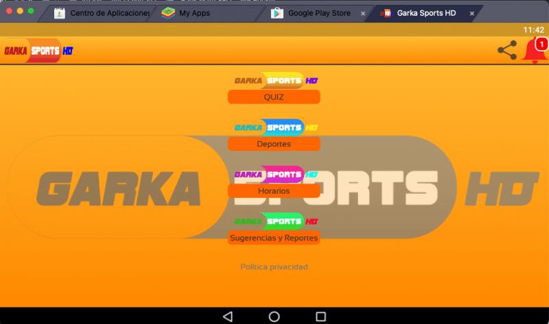 descargar Garka Sports HD para pc
