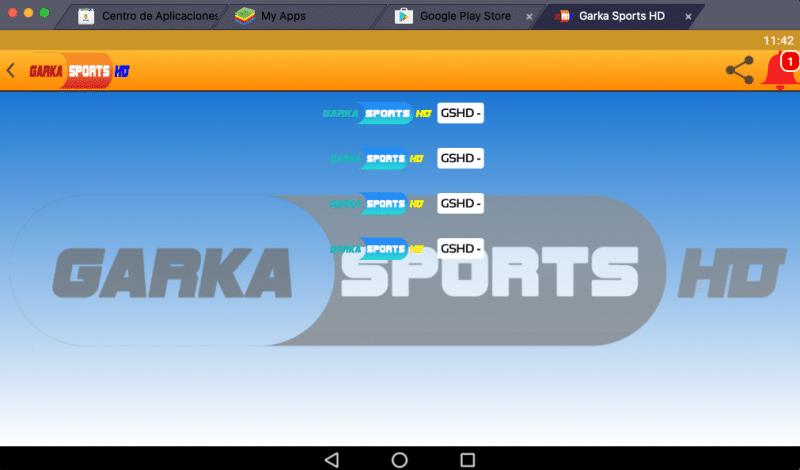 como instalar Garka Sports HD pc windows