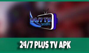 descargar 24/7 tv plus apk