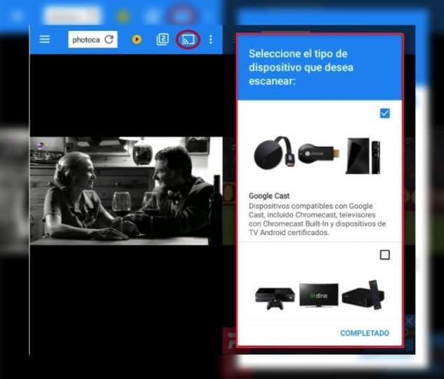 Photocall tv conectar a smart tv