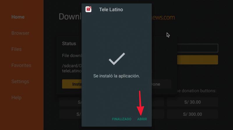 tele latino tv box