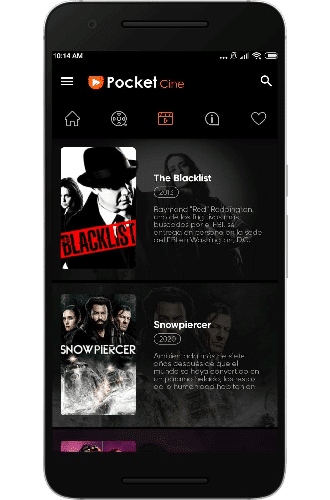 Pocket Cine smart tv