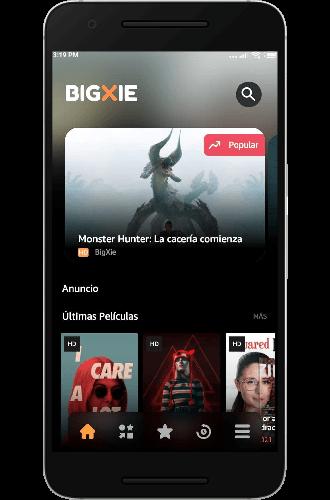 descargar bigxie app registro