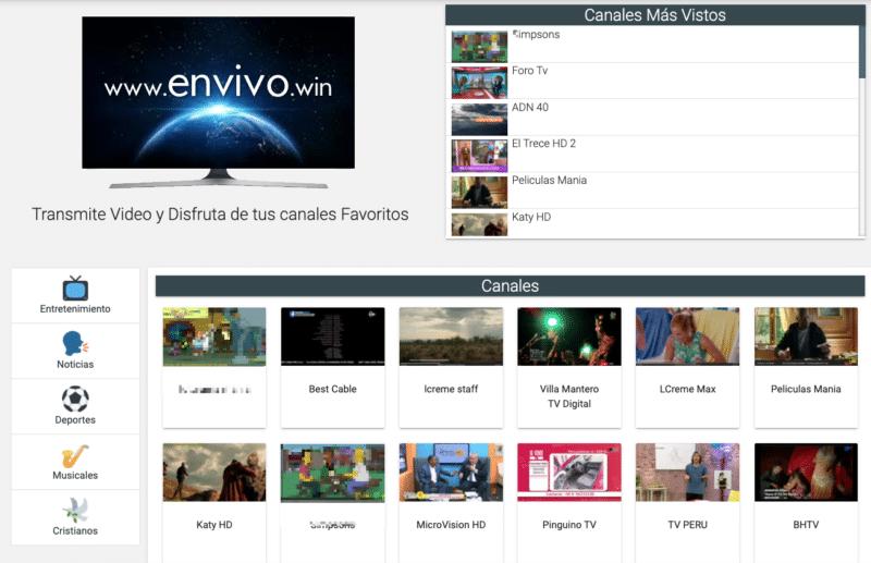 www.envivo.win