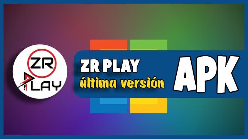descargar ZR Play app
