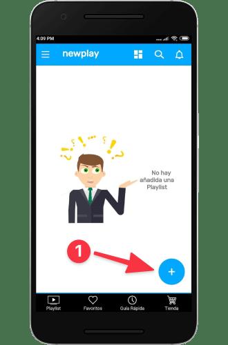 guía de instalación) instalar aplicación recomendada descarguen la ultima versión de la app newplay