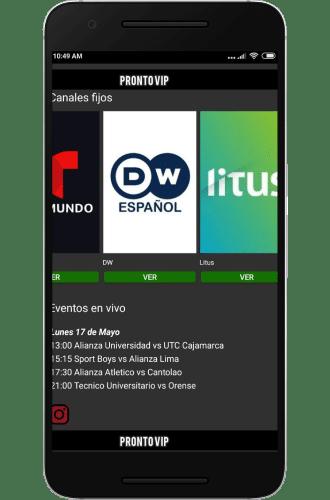 pronto vip app