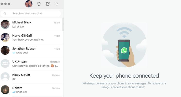 Cómo usar WhatsApp Web en la tableta, el PC o el portátil